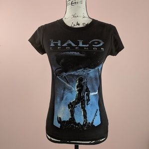 Women's Halo Legends Graphic T-Shirt Size Small